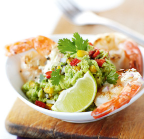 shrimp-avocado-and-feta-wraps