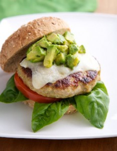 rose reisman chicken pesto burger