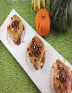 Thanksgiving Recipe Mini Pumpkin Cheesecakes