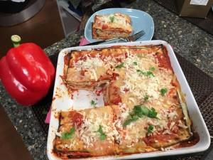 Rose Reisman Passover Recipe Roasted Bell Pepper Lasagna
