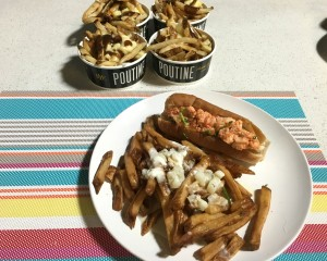 BT Food Trucks Lobster Roll Chowder Fries
