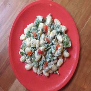 Blue Cheese Gnocchi Recipe - Rose Reisman