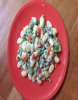 Rose Reisman Blue Cheese Gnocchi