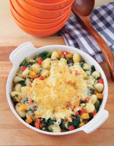 Gnocchi with Squash, Kale and Parmesan