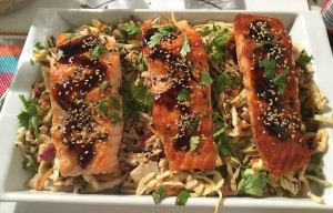 Rush Hour Meals - BT - Hoisin Salmon with Slaw