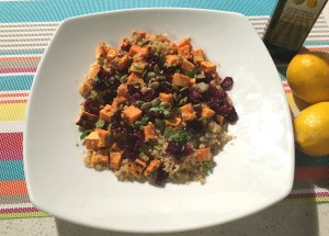 Rush Hour Meals - BT - Sweet Potato Cranberry Quinoa
