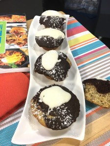 Rush Hour Meals CHCH - Banana Chocolate Cupcakes with Cream Cheese Frosting