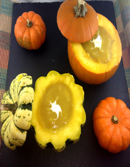 Rose Reisman Squash or Pumpkin Soup in Shell