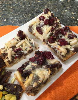 Passover Hello Dolly Matzo Bars