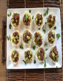 Rose Reisman Ahi Tuna Sushi Cups
