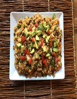 Tex Mex Quinoa Pilaf Recipe