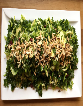 Rose Reisman Brussels Sprout and Kale Salad