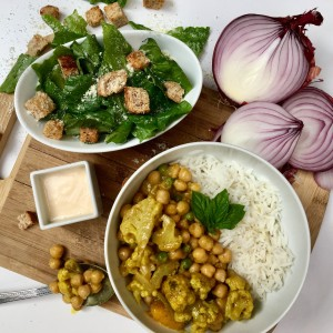 Rose Reisman Rush Hour Family Meal - Edited VEG Chickpea Curry