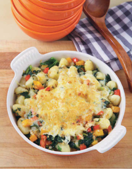 Gnocchi with Squash, Kale and Parmesan Recipe Rose Reisman
