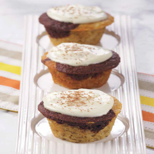 Banana Chocolate Cupcakes with Cream Cheese Frosting Recipe Rose Reisman