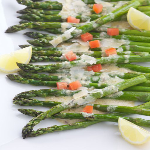 Roasted Asparagus with Parmesan Dressing Rose Reisman Recipe