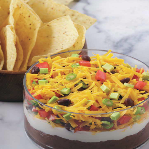 Seven-layer Southwest Dip Rose Reisman Recipe