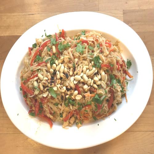 Easy Chicken Pad Thai Recipe Rose Reisman