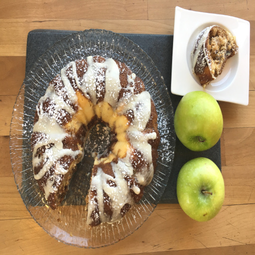 Apple Cream Cheese Coffee Cake Recipe Dessert Rose Reisman