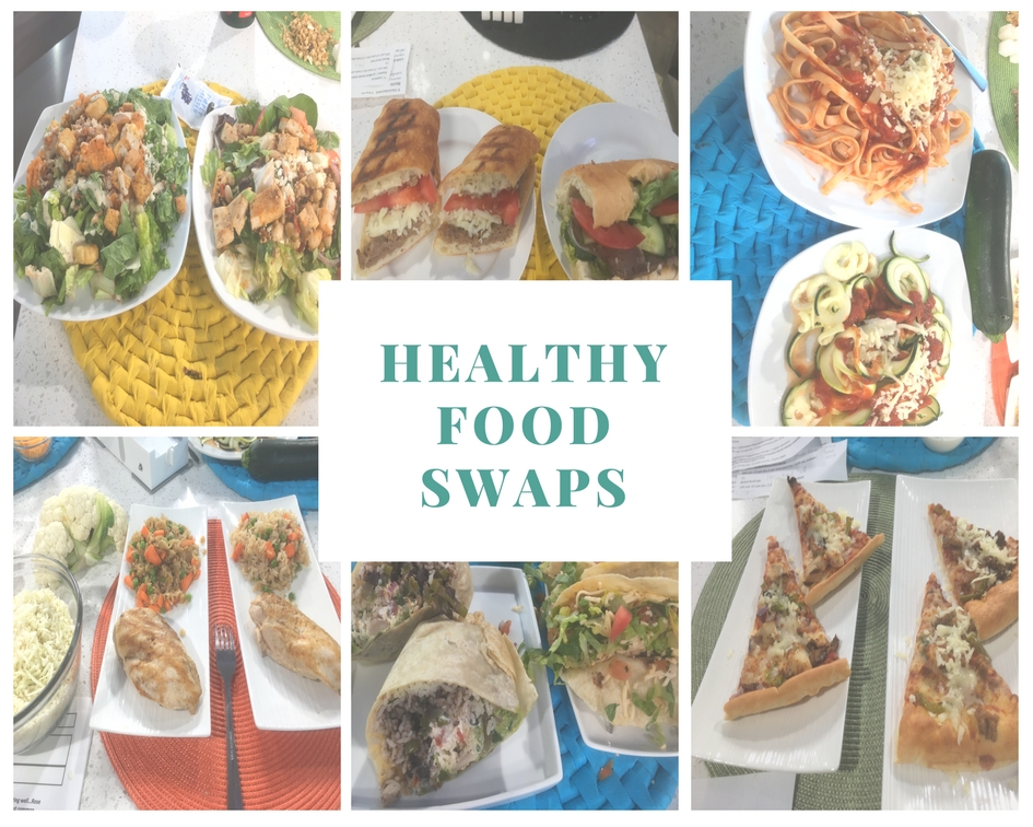 Healthy Food Swaps on BT Rose Reisman