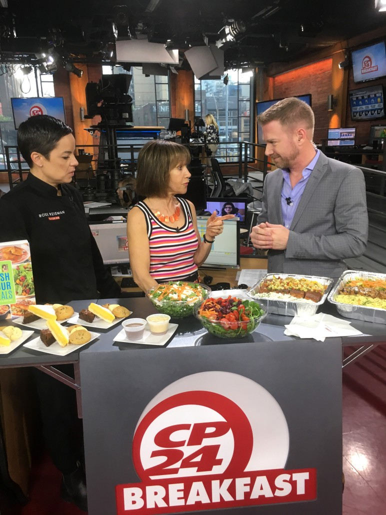 Rose Reisman CP24 Rose's Family Meals