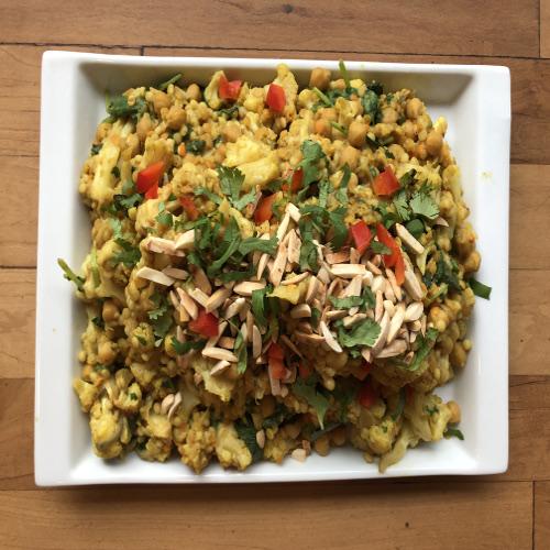Cauliflower and lentil casserole-web