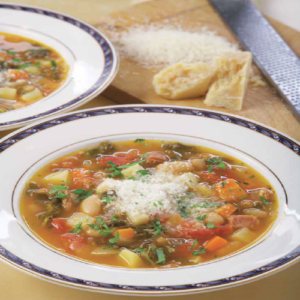 Minestrone with Kale, Prosciutto and Cannellini Beans Rose Reisman Recipe