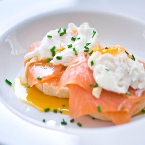 Poached egg with salmon Rose Reisman Recipe