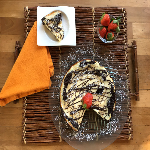 Light Sour Cream Brownie Cheesecake Rose Reisman Recipe
