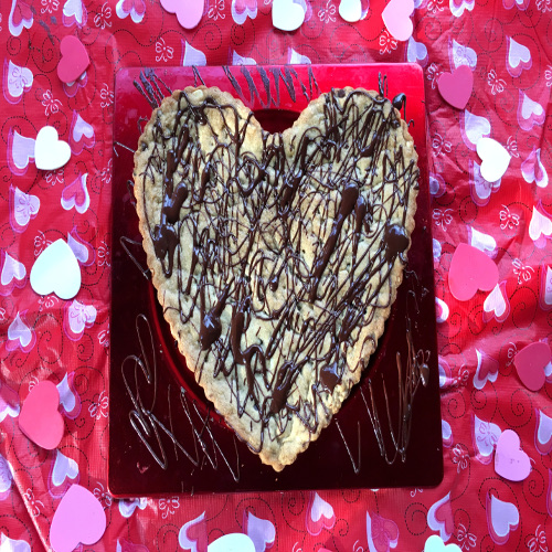 Valentine's Day Heart -Shaped Chocolate Chip Cookie Recipe Rose Reisman