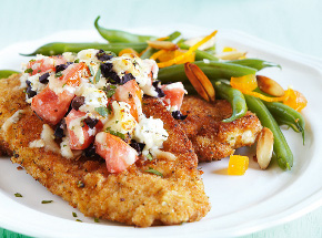 Chicken with Plum Tomatoes