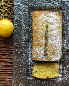 Lemon Poppy Seed Loaf with Lemon Glaze