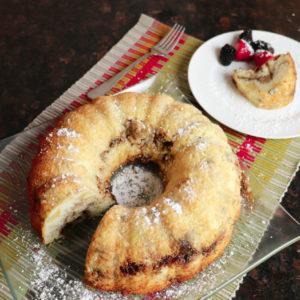 Pear Cinnamon Crumb Cake